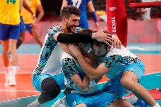 Histórico: Argentina derrotó a Brasil y conquistó la medalla de bronce en vóleibol
