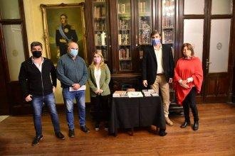 El Museo Provincial Eva Perón recibió materiales por parte de la Cámara de Diputados