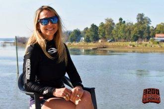 """""""Naturaleza, vida simple y aire libre, qué más se puede pedir"""", dice la pionera del SUP en Concordia"""