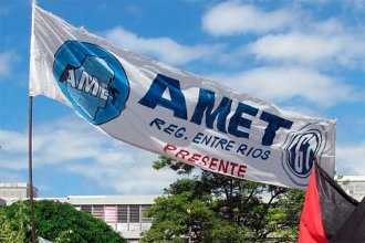 """AMET insiste al gobierno provincial con el pedido de recomposición salarial: evalúan tomar """"medidas de acción"""""""