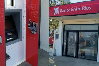 Al sur de la provincia, comenzó a funcionar el cajero automático Nº 331 del Banco Entre Ríos