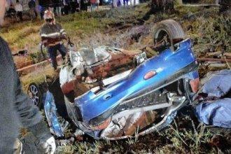 Revelaron detalles del fatal accidente: murieron un padre, su hijo y un amigo