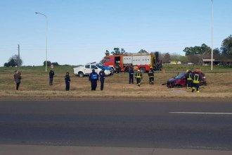 La Autovía Artigas, escenario de una nueva tragedia: tras despistar, falleció una mujer