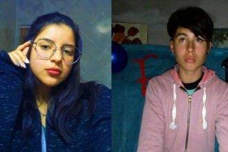 Dos adolescentes son intensamente buscados