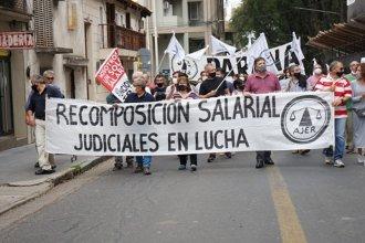 """""""Esperamos alguna señal"""": sigue sin resolverse el conflicto con trabajadores judiciales"""