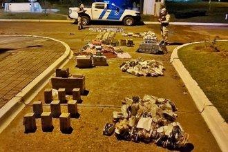 Intentaban cruzar mercadería de contrabando por más de 3 millones de pesos