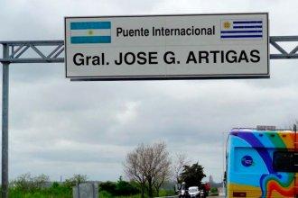 ¿Para qué se construyeron los puentes sobre el Río Uruguay?