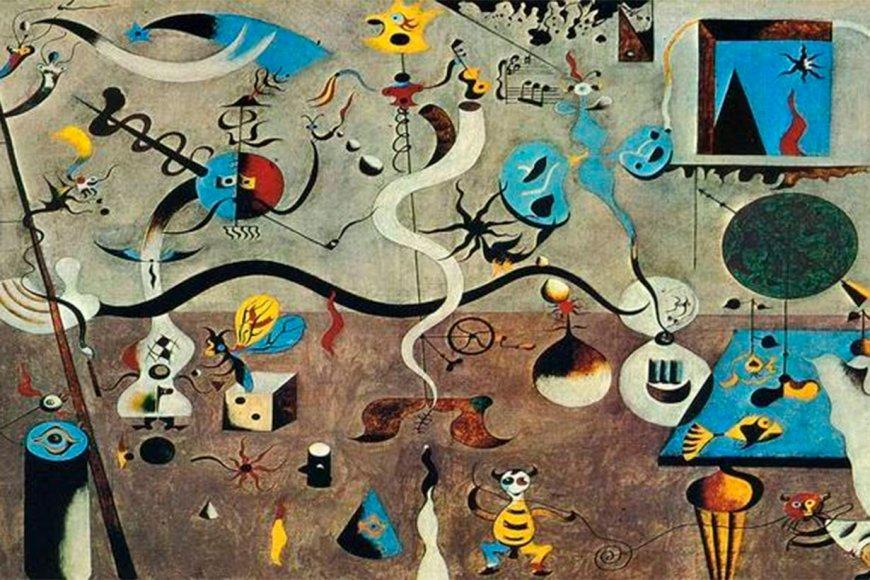 El surrealismo de Joan Miró