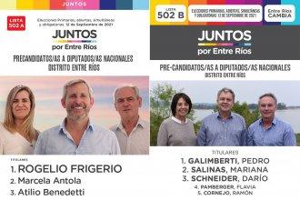El escrutinio definitivo confirmó los lugares en la lista de Juntos por Entre Ríos