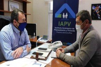 IAPV planifica nuevas viviendas para el departamento Concordia