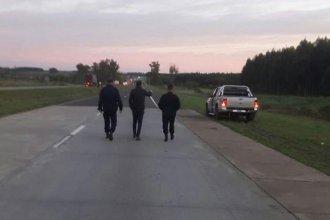 Identificaron al hombre que fue atropellado por un camión en la Autovía Artigas