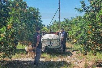 Productor rural perdió la vida al quedar atrapado por la toma de fuerza del fumigador