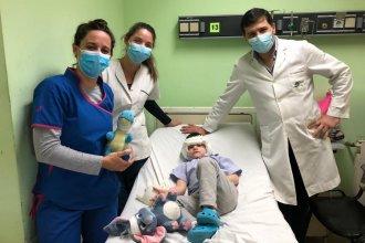 Un niño de 4 años recibió un implante coclear bilateral en el Hospital Masvernat