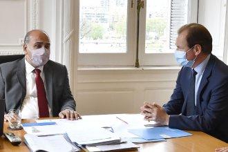 El encuentro de Bordet con el nuevo jefe de Gabinete y la apuesta por revertir el resultado de las PASO