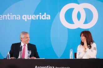 Alberto y Cristina, otra vez juntos, presentaron la ley de Fomento al Desarrollo Agroindustrial