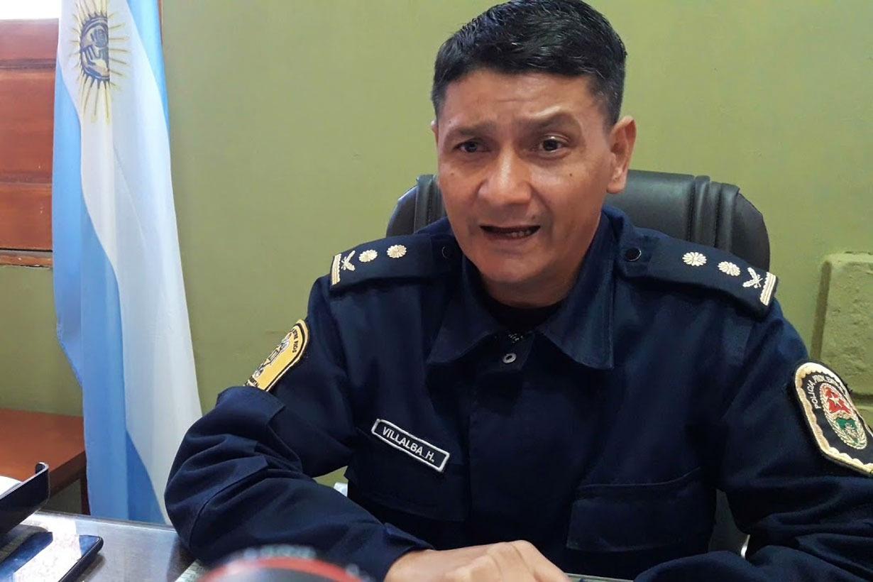 Segunda denuncia al jefe de Policía de Colón.