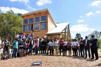"""Está en Salto Grande el primer aula sustentable del país: """"La educación, camino para recuperar la relación con la naturaleza"""""""