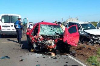 Malas noticias llegan desde Federación: murió un conductor que chocó en ruta provincial 2