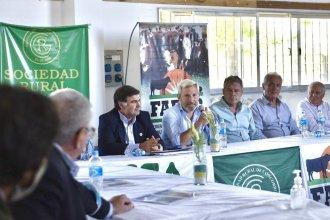 Los candidatos de JxER se reunieron con referentes del campo durante su visita a Concordia