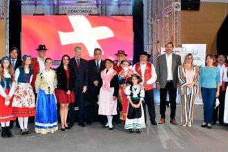 El embajador de Suiza visitó el Molino Forclaz y participó de la Fiesta del Inmigrante en Concordia