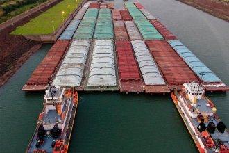 """Salto Grande: Uruguay apuesta al """"nodo logístico"""", con un puerto seco y otro de barcazas"""