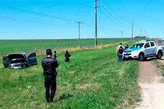 Dormido al volante, escribano perdió el control del auto y volcó