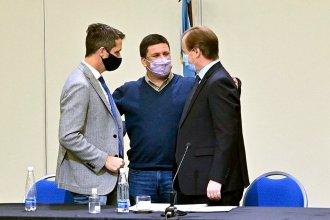 """Con Cresto y Bordet al lado, intendente oficialista habló de """"hartazgo"""" y pidió """"profundizar el cara a cara con la gente"""""""