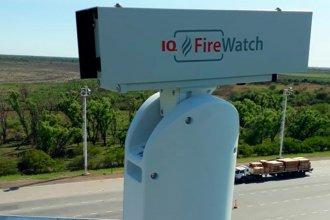 Instalan cámaras de detección de incendios en el delta del Paraná