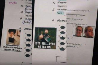 Maestra entrerriana es furor en redes por su particular forma de corregir pruebas