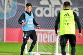 """""""Jugar la Copa del Mundo es mi gran sueño"""": ilusiones y frustraciones de Martínez, crédito entrerriano en la Selección"""