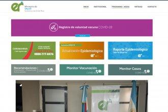 Salud incorpora a su página un nuevo monitor epidemiológico
