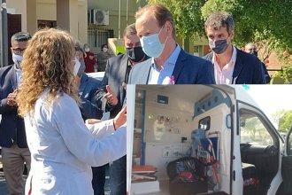 Por una inversión de 93 mil dólares, así está equipada la ambulancia que recibió el hospital modular