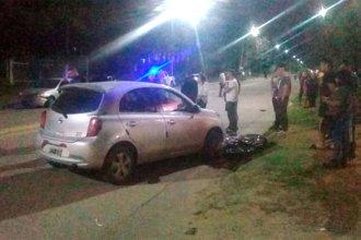 Uno murió y el otro sufrió lesiones graves: jóvenes corrían picadas y chocaron contra dos autos