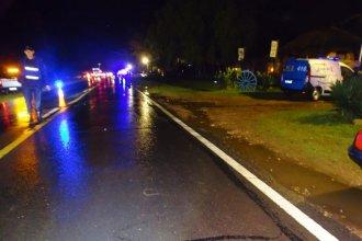 Fatal accidente en el Departamento Colón: un hombre murió atropellado en plena ruta