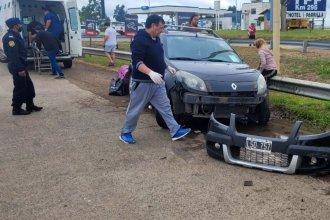 Despistó una camioneta en la autovía de la RN14 y dos mujeres terminaron hospitalizadas