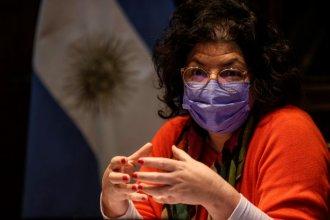 La ministra Vizzotti anticipó que desde febrero aplicarán terceras dosis