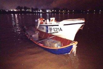 Querían cruzar tres millones de pesos en medicamentos y ropa por el río Uruguay