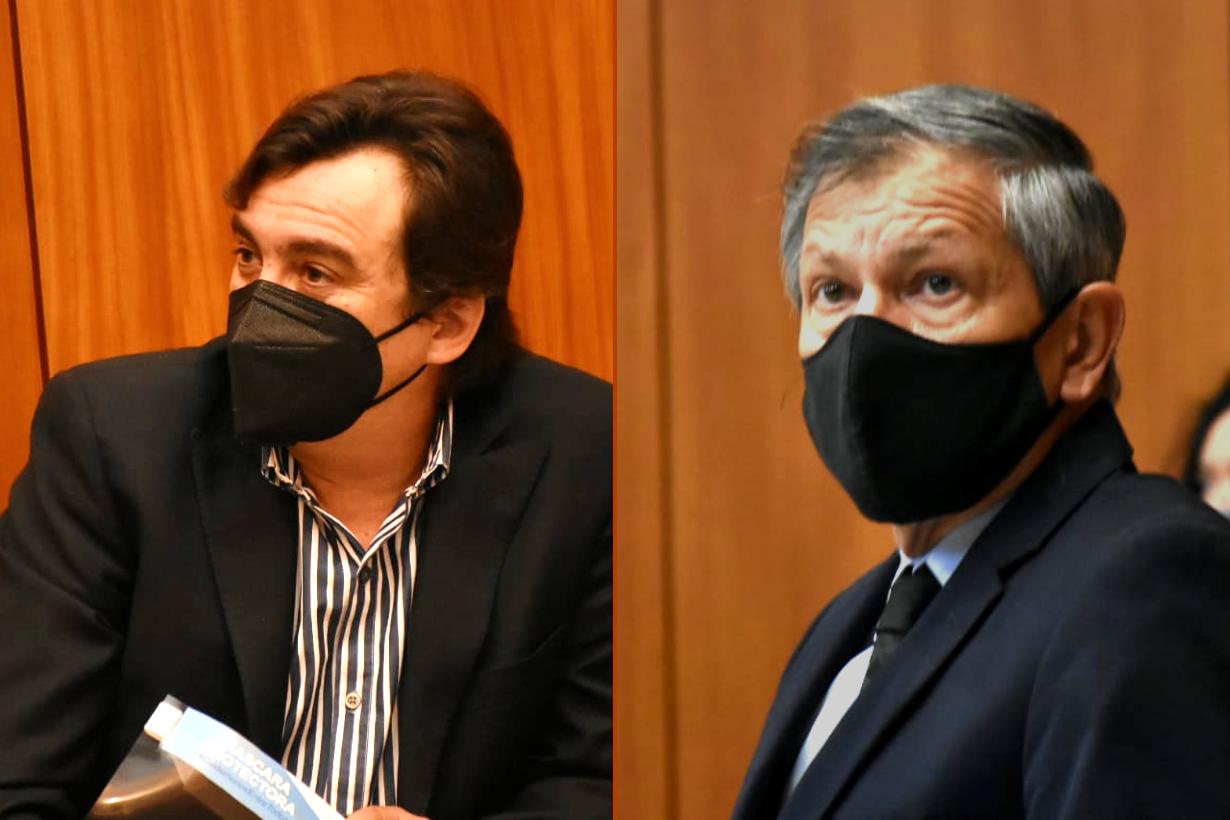 Juan Pablo Aguilera y Pedro Báez.