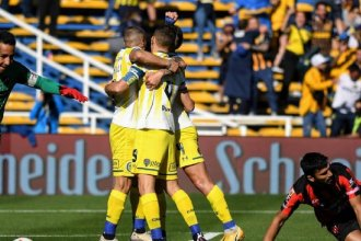 Con un gol en el último minuto, Rosario Central derrotó a Patronato