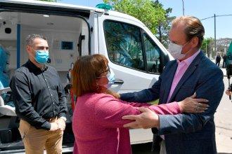 """Bordet entregó ambulancias y habló del """"apoyo para los candidatos"""" a diputados"""