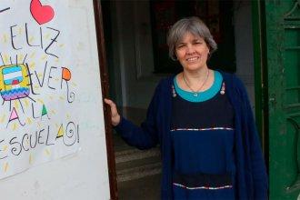 Ana María Stelman, nada más ni nada menos que una maestra