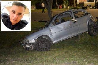 Murió el policía entrerriano que había protagonizado un grave accidente