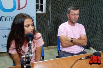 Mía y Federico, los entrerrianos que representarán al país en el  Latinoamericano de la paradisíaca Punta Cana