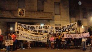El no al fracking llegó a la Justicia