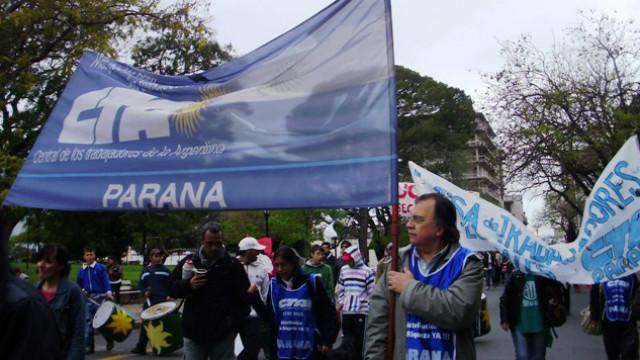 14 de marzo, marcha nacional de la CTA