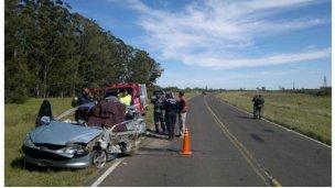Accidente en ruta 12: Dos muertos y cuatro heridos