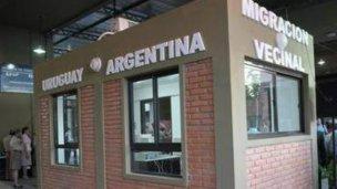 Los uruguayos pasan gratis