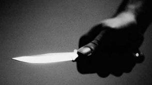 Cuchillo en mano, intentaba robar pertenencias a los transeúntes