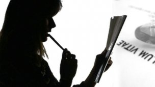 Relevamiento de currículum en la Oficina de Empleo