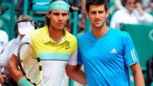 Djokovic y Nadal se cruzan por la gran final